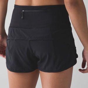 Rare High Waisted lululemon Speed Shorts